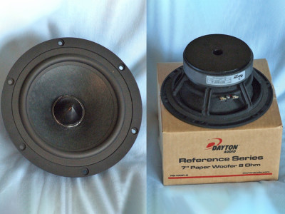 "Test Bench: Dayton Audio RS180P-8 7"" Reference Series Midwoofer"
