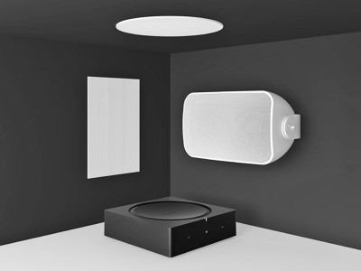 Sonos Architectural by Sonance Premium Architectural Speakers Designed for use with Sonos Amp