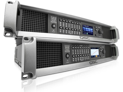 QSC Introduces CX-Q Series Network Amplifiers for the Q-SYS Ecosystem