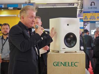 Genelec Showcases New S360 High SPL Loudspeaker at ISE 2019