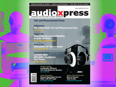 audioXpress March 2019 Is Now Available. Time for Audio Test and Measurements!