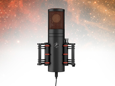 Antelope Audio Premieres World's First USB-C Bus-Powered Modeling Mic