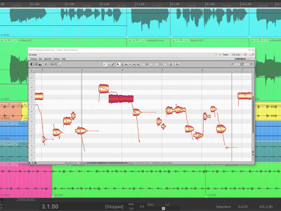 Melodyne and Reaper Are Now Able To Communicate Via ARA 2