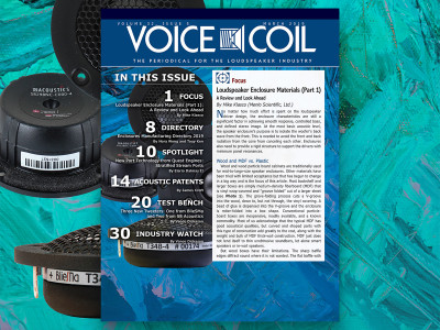 Expanded Perspectives on Loudspeaker Enclosure Materials with Voice Coil March 2019