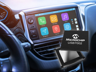 Industry's First Automotive USB 3.1 SmartHub with Type-C Support Enables 10x Faster Data Rates in Infotainment Systems