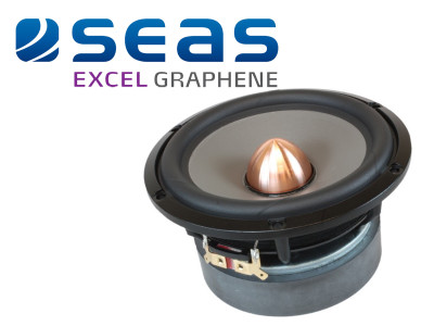 SEAS Announces New Excel Graphene Woofer Series