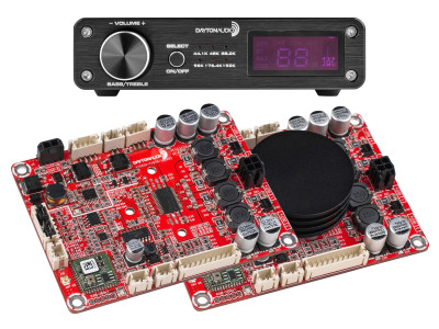 Dayton Audio Expands Bluetooth Convenience with New Class D Amp Boards and Integrated Amplifiers