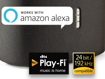 "DTS Play-Fi Devices Supporting ""Works With Alexa"" Now Feature Alexa-Preferred Speaker Functionality"