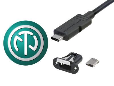 Neutrik Launches mediaCON USB Type-C Series Cable and Panel Connectors