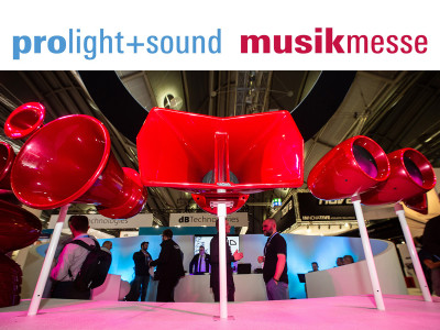 Top Brands and More Events at Prolight+Sound and Musikmesse 2019