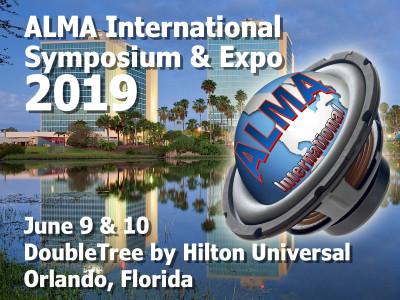 ALMA International Symposium & Expo 2019 - The Audio Industry's Best Kept Secret!