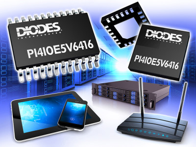 GPIO Port Expander From Diodes Provides I2C Interface And Level Shifting For Any Legacy Peripheral
