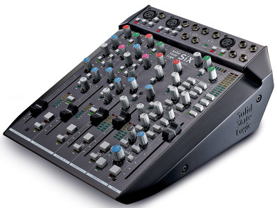 Solid State Logic Launches SiX Desktop Mixer