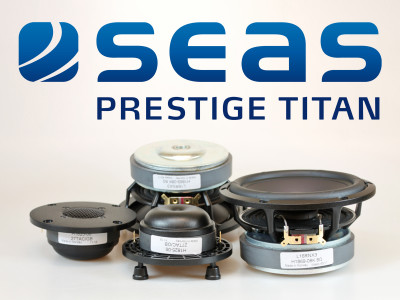 SEAS Improves Foundational Driver Family with Launch of New Prestige Titan Series