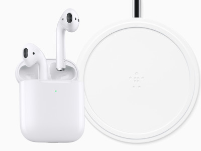 Apple Introduces Updated AirPods with Wireless Qi Charging