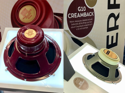 Celestion Expands Classic Guitar Speakers with New Ruby and G10 Creamback Models