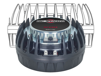 B&C Speakers Debuts DCX464 Coaxial Compression Driver