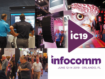 InfoComm 2019 Set To Be the Largest Pro-AV Show in North America