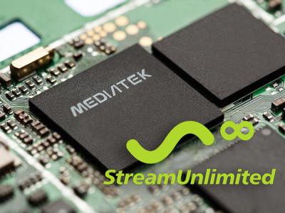 StreamUnlimited Announces StreamSDK availability on MediaTek MT8516 SOC