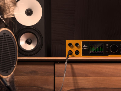 Antelope Audio Introduces Amári 24-bit/384 kHz AD/DA Converter and Headphone Amplifier