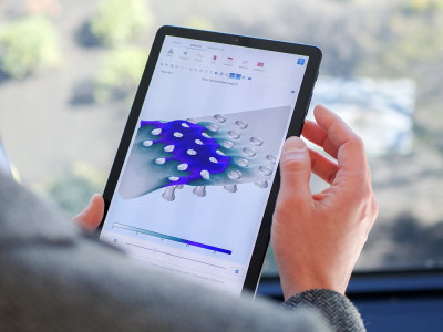 Simulation On-The-Go with COMSOL Client for Android