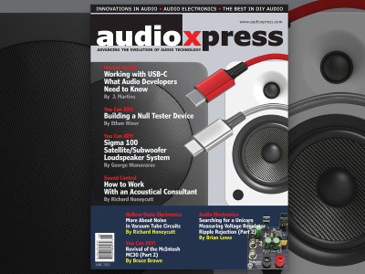The Latest Technology Updates and Smart Designs in audioXpress June 2019