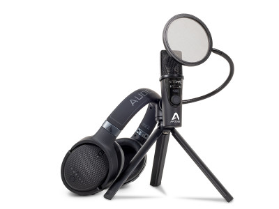 Audeze and Apogee Announce Limited Edition Microphone and Headphone Bundle