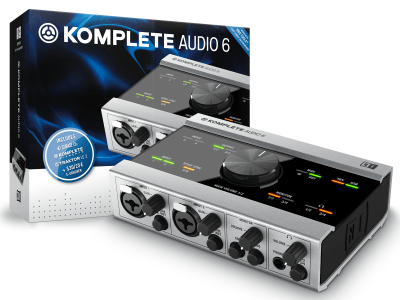 Native Instruments KOMPLETE AUDIO 6 Increases Audio Quality in a USB-Powered Audio Interface