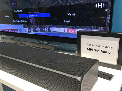 Fraunhofer IIS Licenses MPEG-H Audio Patents to LG Electronics