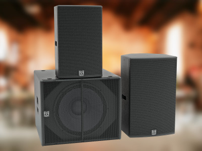 Martin Audio Adds Power to Its Fastest-Selling Portable Speaker Range with BlacklineX Powered