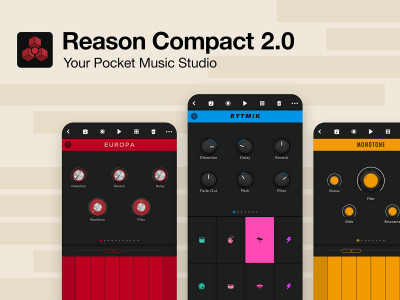 Propellerhead Launches Reason Compact 2.0 – A Pocket Music Studio