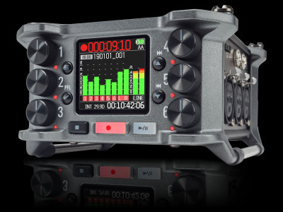 Zoom Launches New F6 32-bit MultiTrack Field Recorder