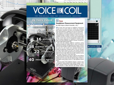 From Speakers to Headphones in Voice Coil June 2019