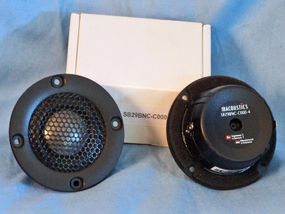 Test Bench: The SB Acoustics SB29BNC-C000-4 Tweeter