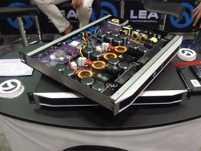LEA Professional Launches New Technology Platform and First Low Power, Connected Amplifiers