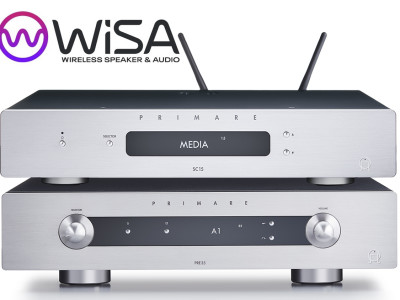 WiSA Announces Certification for Primare Prisma SC15 and PRE35 Network Preamps