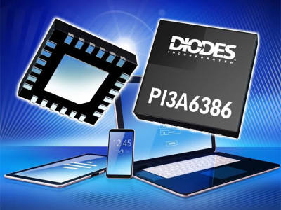Diodes Announces New USB Type-C Ultra-Low THD Analog Audio Port Switch