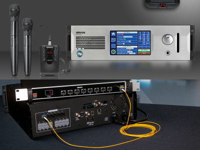 Alteros Expands Ultra-Wideband Wireless Microphone System with New Options