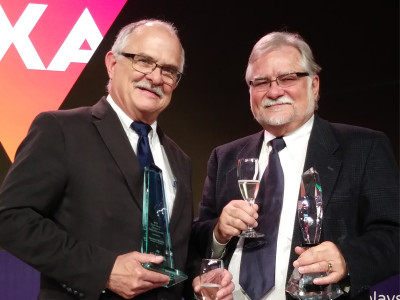 Lectrosonics President Gordon Moore Honored with AVIXA Award at InfoComm 2019