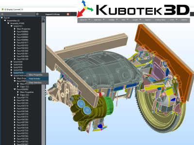Kubotek3D Launches CAD File Translation Converter