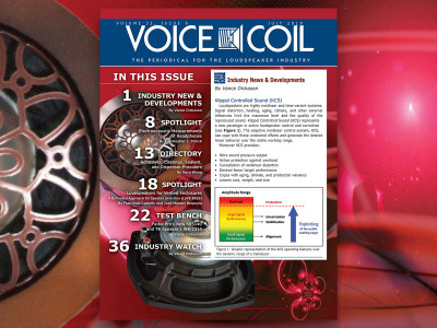 The Latest Resources for Transducer Measurement and Design in Voice Coil July 2019