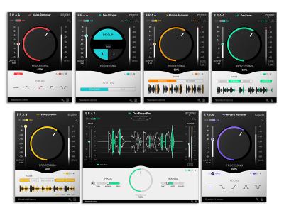 Accusonus Launches Enhanced ERA 4 Audio Repair Plug-In Bundles