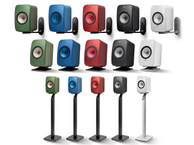 KEF Launches Mounting Accessories for LSX Wireless Speakers
