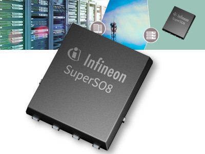 Infineon OptiMOS Power MOSFETs with Highest Power Density and Efficiency