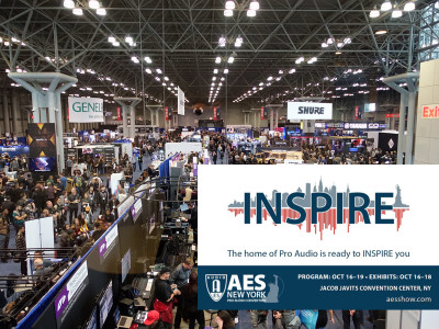 Audio Industry Returns to New York for 147th International Audio Engineering Society Convention