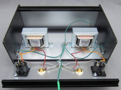 A Transformer-Coupled Balanced Output for Solid-State Preamps