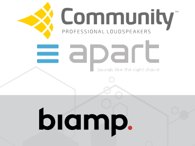 Biamp Systems Accelerates Expansion with Acquisition of Community Loudspeakers and Apart Audio