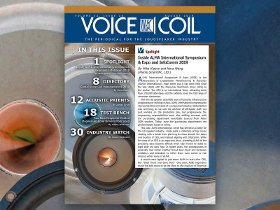 Get Up Close with the Loudspeaker Experts in Voice Coil August 2019