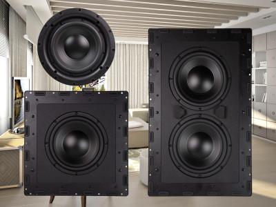 Nuvo Introduces New Family of Compact 8-Inch Passive Subwoofers and Matching Amplifiers