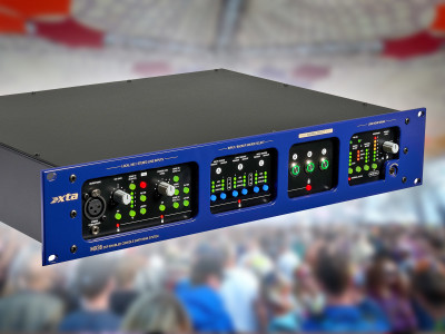 XTA Introduces MX36 Console Switching System with Analog, AES3 and Dante Network Inputs